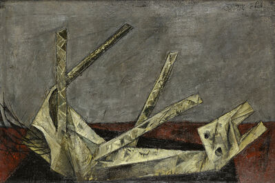 Yosl Bergner, 'Wooden Horse', 1958