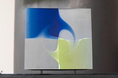 Peter Borkovics, 'Negyed kék - A quater Blue', 2020