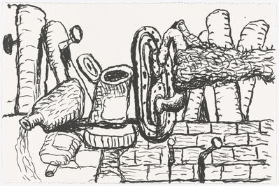 Philip Guston, 'Remains', 1981