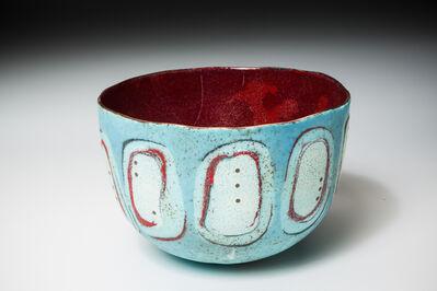 Sarah Perkins, 'Light Blue Scarf Bowl', 2016