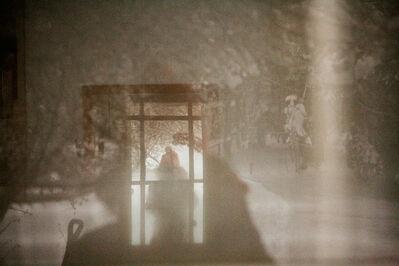 Monika Sosnowski, ' Looking in through a glass door, Windsor, MA ', 2015