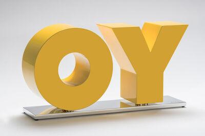 Deborah Kass, 'Deborah Kass, Oy/Yo (Yellow)', 2019