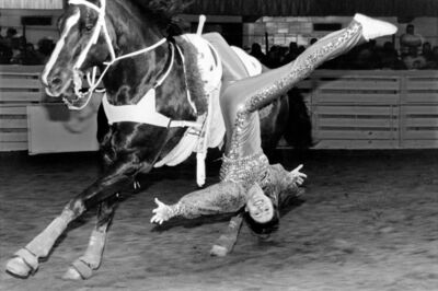 Laura Wilson, 'Trick Rider, Fort Worth Stock Show and Rodeo, Fort Worth, Texas, February 1, 2001 '