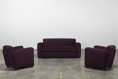 Jean Royère, 'Set of sofa and two armchairs', ca. 1960
