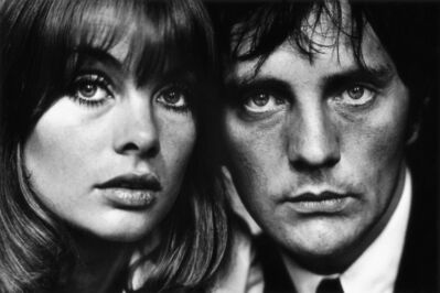 Terry O'Neill, 'Jean Shrimpton and Terence Stamp, London', 1964