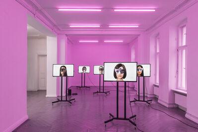 !Mediengruppe Bitnik, 'Ashley Madison Angels at Work in Berlin', 2017