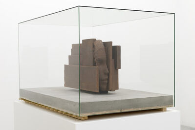 Mark Manders, 'Iron Head On Concrete Floor', 2013