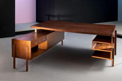 Pierre Jeanneret, 'Desk', ca. 1955