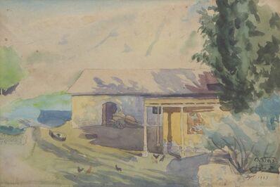 omar onsi, 'Lebanese House', 1923