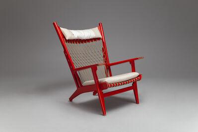 Hans Jørgensen Wegner, 'Rare 'Web' Armchair, model no. JH-719', ca. 1968