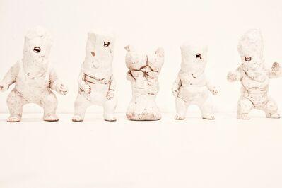 Kenjiro Kitade, 'Infant Terrible W#28, W#25, W#27, W#33, W#29', 2017