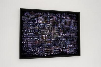 Hubert Blanz, 'Urban Codes – Lichtdiagramm 04', 2018