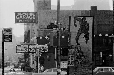 Hervé GLOAGUEN, 'Greenwich village signs, NY 1967', 1967