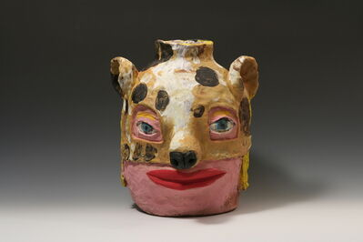 Kirk Mangus, 'Girl with Dog Mask I', 2008
