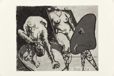 William Kentridge, 'Nose 23', 2009