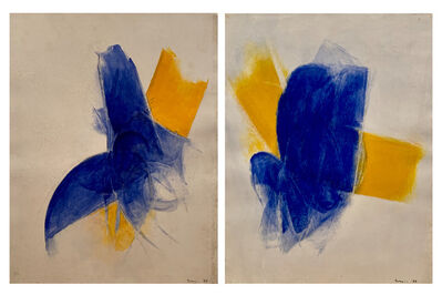 Cleve Gray, 'Ceres Diptych', 1966