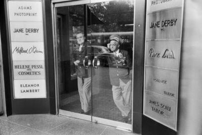 Werner Bischof, 'Bored doormen, New York, USA', 1953