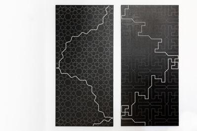 Rune Mields, 'zemin u zeman: Oktogon und Tetragon (Diptych)', 1978