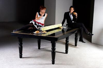 Lanzavecchia + Wai, 'Ping Pong Dining Table', 2009
