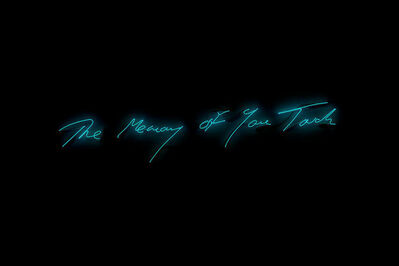 Tracey Emin, 'The Memory Of Your Touch', 2017