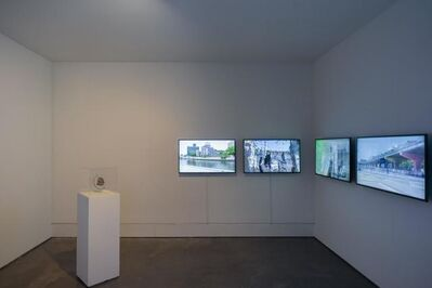 Ernesto Klar, 'Invisible Disparities, Juncture I, In the experience of the irremediable thingness of the world, bumping into a limit, touching it', 2011-2015