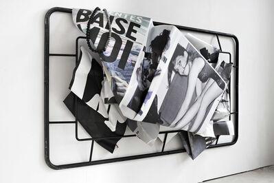 Olaf Metzel, 'Baise moi', 2019