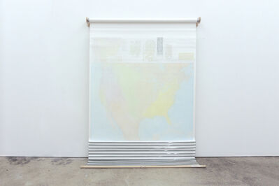 Agustina Woodgate, 'The Country In Flames (Map) ', 2017
