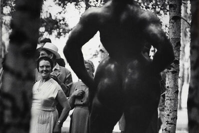Elliott Erwitt, 'Standing Woman, 1932 Bronze Sculpture by Gaston Lachaise', 1950s/1950s