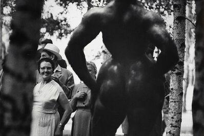Elliott Erwitt, 'Standing Woman, 1932 Bronze Sculpture by Gaston Lachaise', 1950s/1950s
