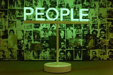 Martin Creed, 'Work No. 2070: PEOPLE', 2014