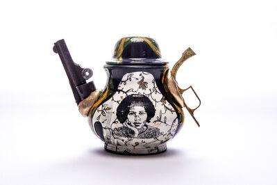 Roberto Lugo, 'To Disarm: bell hooks', 2020