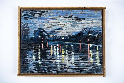 Martin Machado, 'Walnut Grove Bascule Bridge At Night', 2020