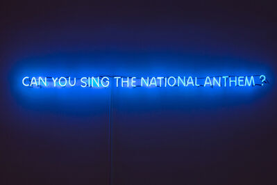 Piyarat Piyapongwiwat, 'Can you sing the national anthem?', 2015