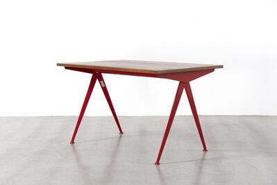 Jean Prouvé, 'Cafétéria no. 512 table, A.K.A. compas table', ca. 1955