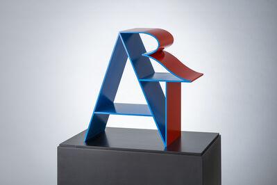 Robert Indiana, 'ART (Blue Red)', 1972-2000