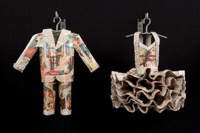 Donna Rosenthal, 'He Said/She Said: Magnetic Man/Welcoming Woman', 201