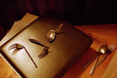 Shannon Taggart, 'The utensils Willa White bent with her mind. Lily Dale, NY.', 2002