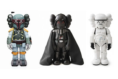 KAWS, 'STAR WARS SET', 2008-2013