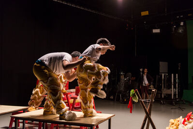 Samson Young 楊嘉輝, 'Muted Situation #2: Muted Lion Dance ', 2014