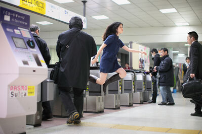 Natsumi Hayashi, 'Today's Levitation 2/21/2011', 2011