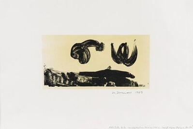 Marlene Dumas, 'Sexual organs flying in the air', 1989
