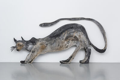 Tschabalala Self, 'Black Cat Spread', 2017