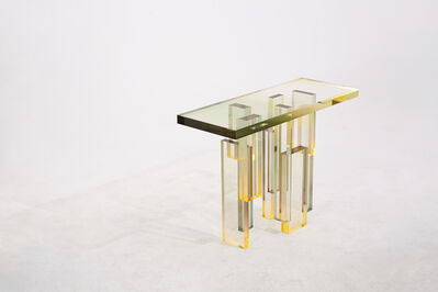 SaeRom Yoon, 'Crystal Series_ Console Table 02', 2018