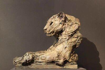 Patrick Villas, 'Buste de panthère pattes croisées', 2013