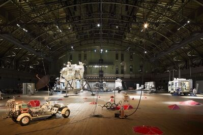 "Tom Sachs, 'Installation view of ""Space Program: Mars""', 2012"