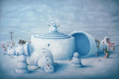 Bruno Pontiroli, 'L'effet boule de neige', 2013