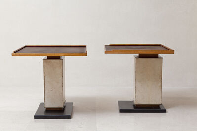 Paul Dupré-Lafon, 'Pair of tables', ca. 1940