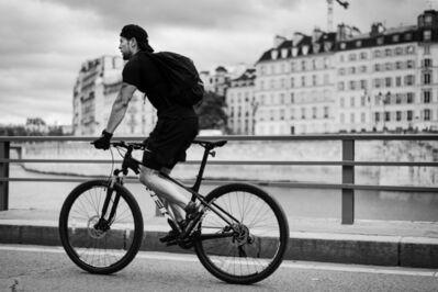 Patricia Zumhagen, 'Biking Along the Seine', 2020