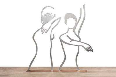 Alex Katz, 'Dancers (Outline)', 2019
