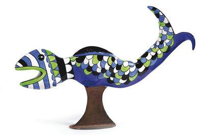 Niki de Saint Phalle, 'VASE POISSON', 1992